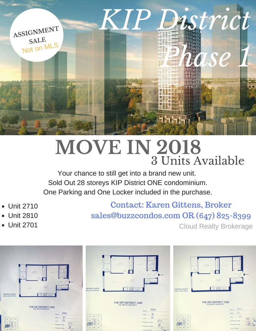 KIP District Phase ONE Units for Sale