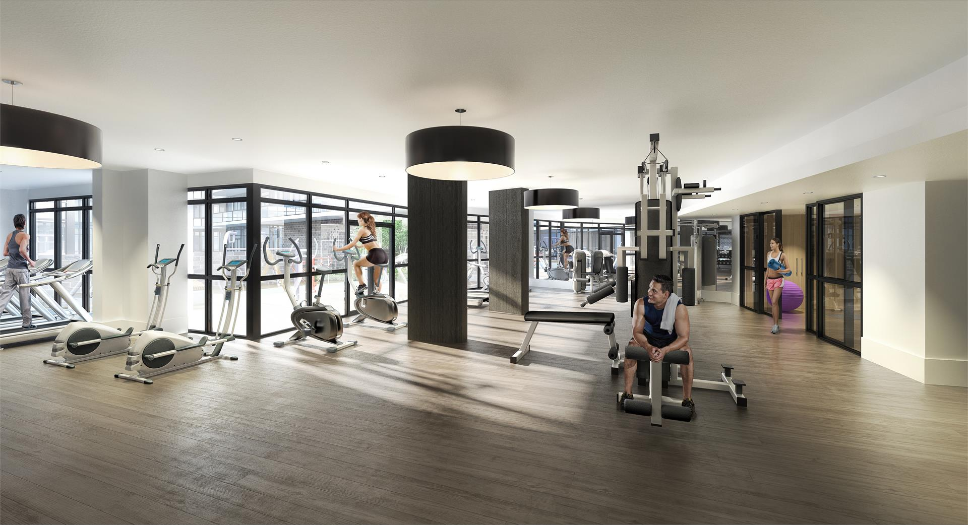 Fortune at Fort York condos gym -BuzzCondos