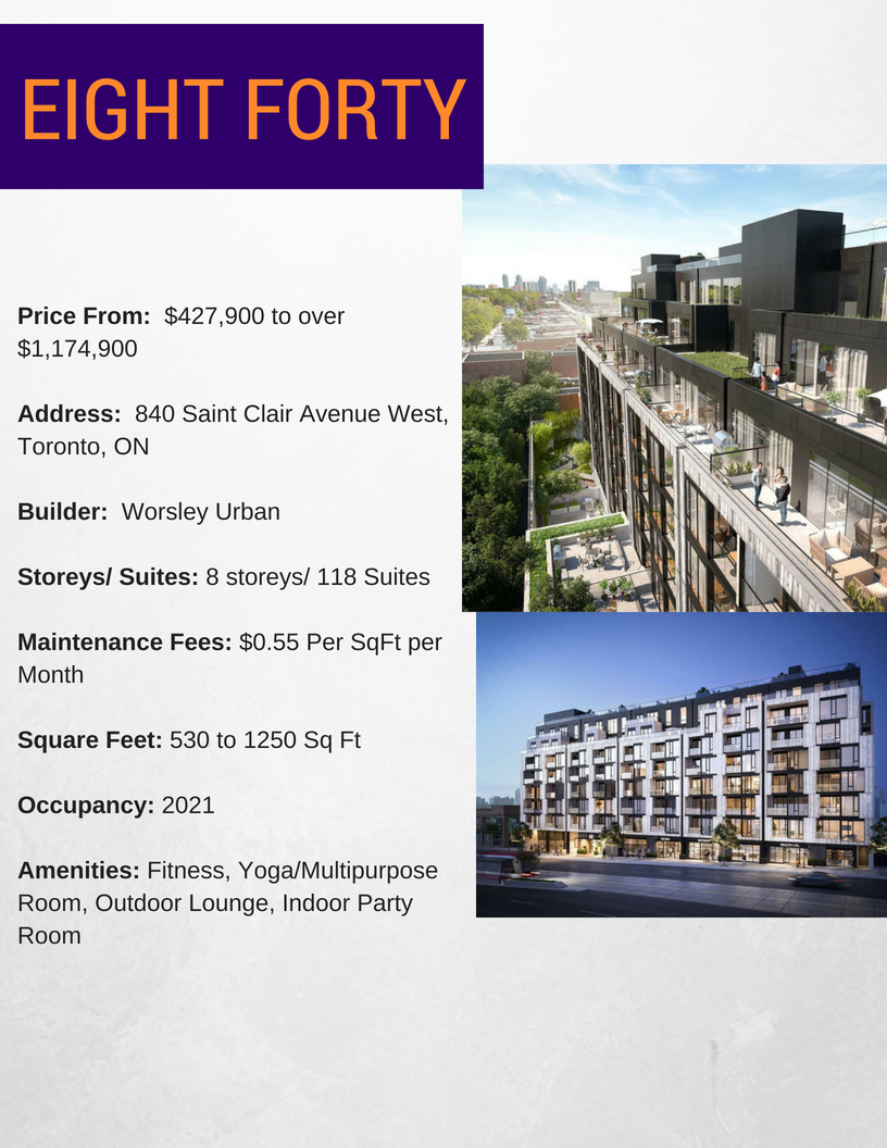 EIGHT FORTY project info-BuzzCondos