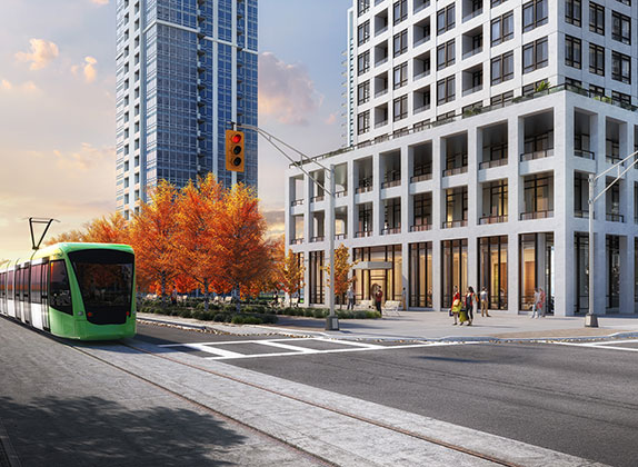 Edge Tower 2 Condos transit info-BuzzCondos