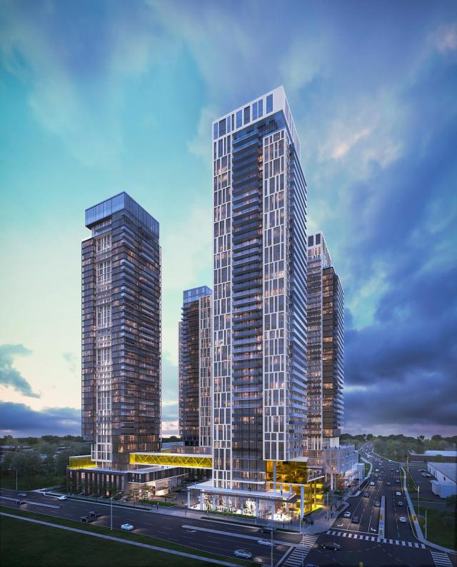 Brimley and Progress Towers Master View -BuzzCondos