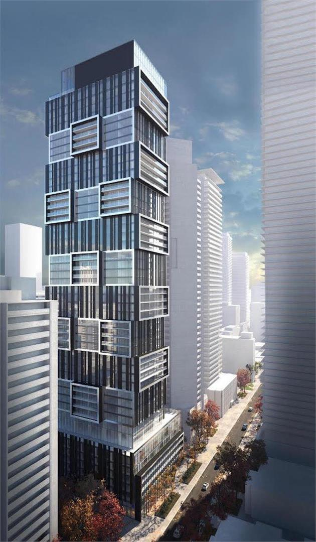 55C Bloor Yorkville Residences  Condos front building picture - Buzz Condos